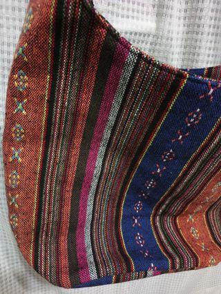 民族風織布斜背包