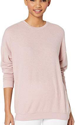 Alo yoga BNWT mauve heather pullover size M