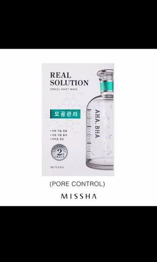 Missha AHA BHA Pore Control Mask