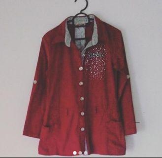 Jacket Vintage Top #Lelong80