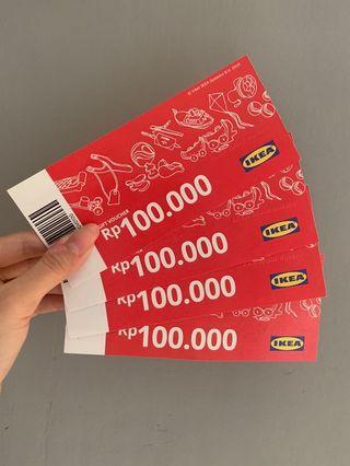 IKEA Voucher 400K