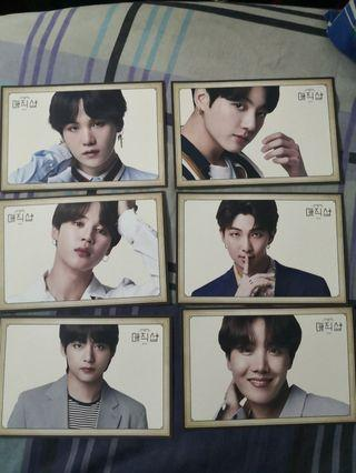 Official 5TH MUSTER PHOTOCARD BTS X LG