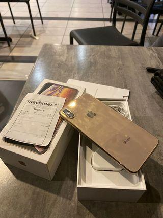 Iphone xs max 256Gb GOLD myset