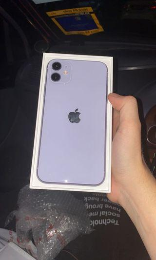 Iphone 11 64gb purple myset