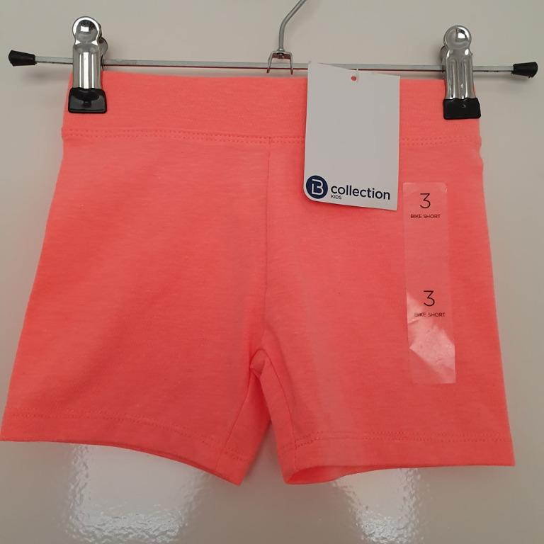 2x Size 3 New with tags Bike Shorts Aqua and Orange