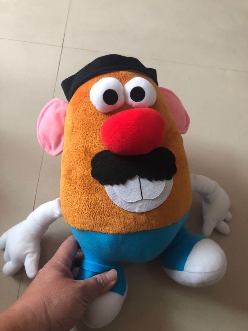 絕版日版玩具總動員蛋頭先生絨毛玩偶娃娃35公分