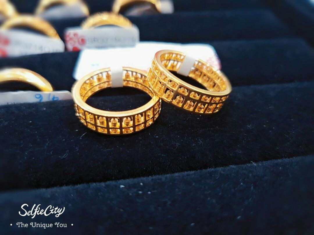 916 abucus Ring