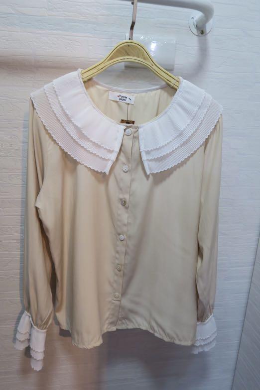 氣質娃娃領襯衫
