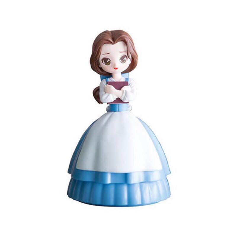 日本現貨 (BANDAI) 五代迪士尼公主系列 造型轉蛋環保蛋扭蛋款 全新未拆 貝兒 茉莉 愛麗兒小美人魚  單售 整套