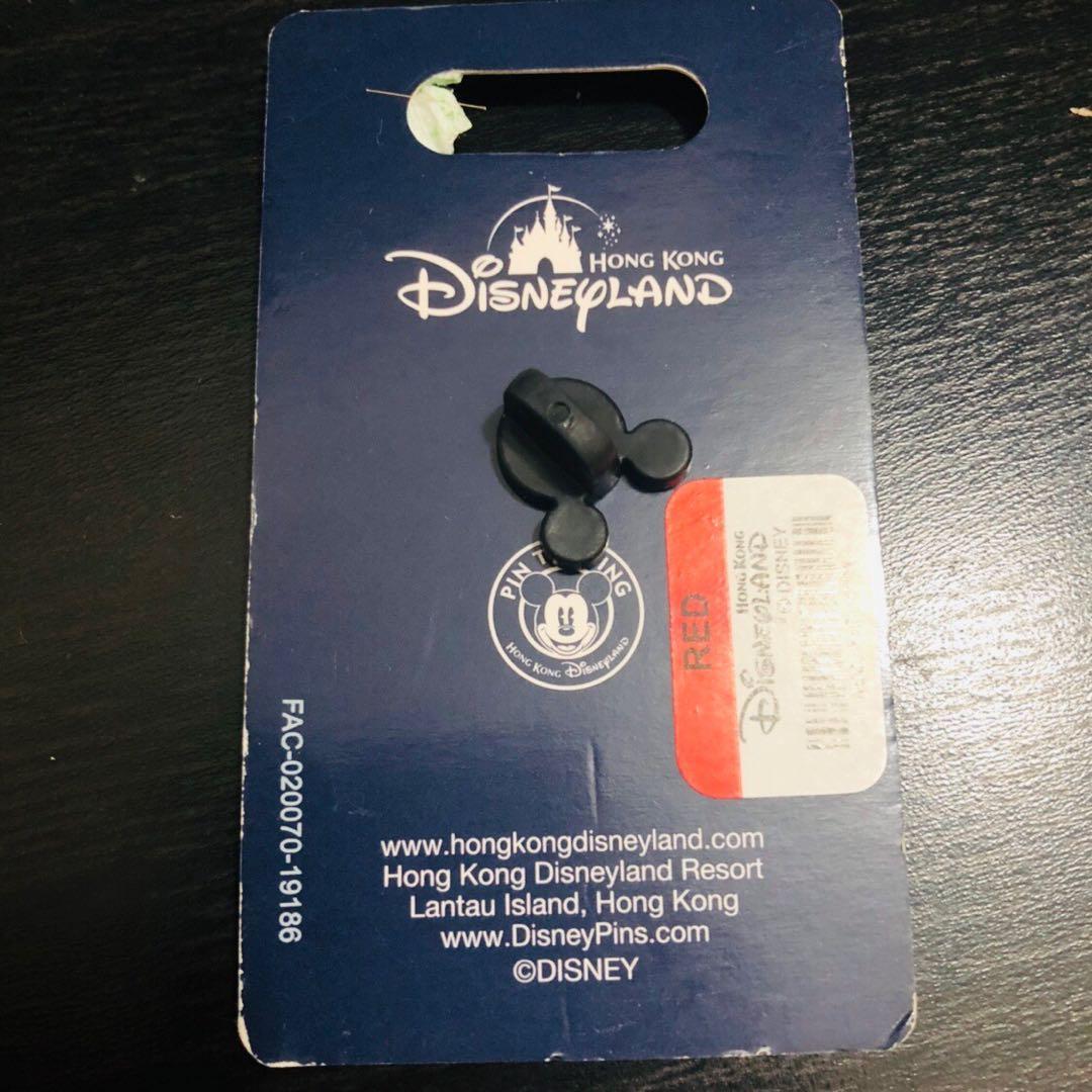 夜光!迪士尼史迪仔襟章 Disney Stitch Glow in the dark Pin
