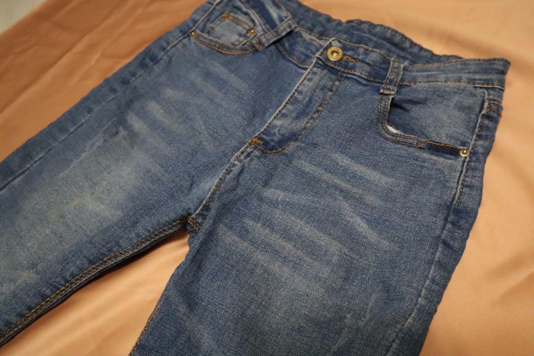 牛仔褲 slim cut jeans