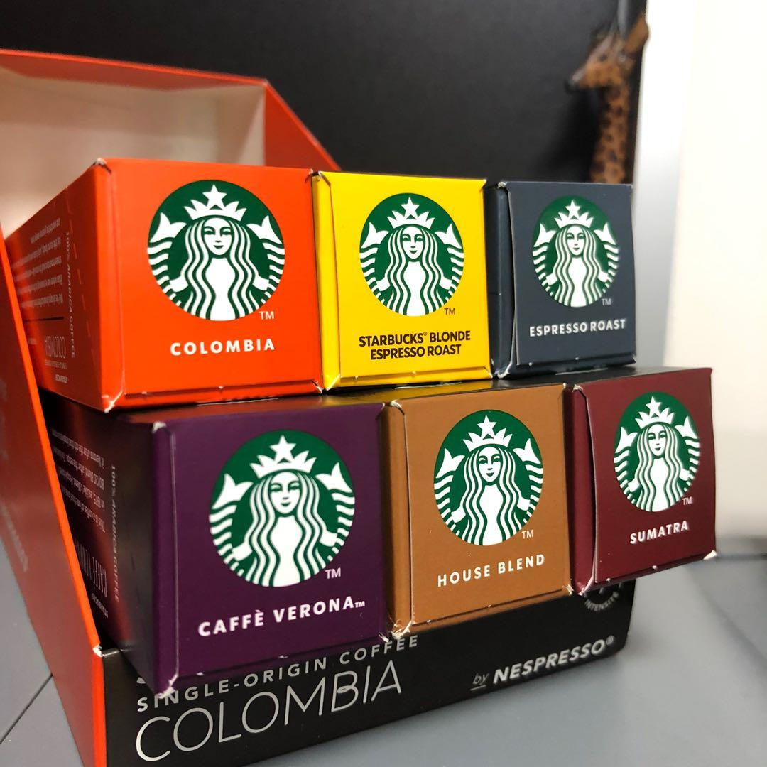 海外直送 Starbucks Nespresso Capsules Coffee /  Coffee Capsule