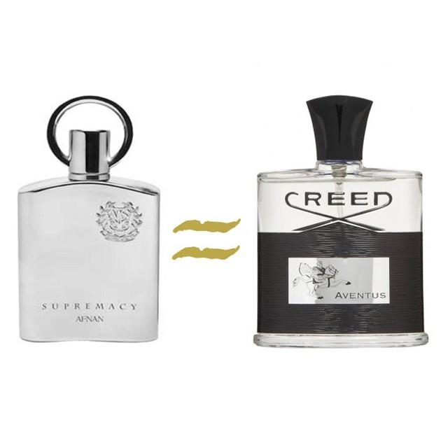Afnan Supremacy Silver EDP for Men (100ml) Creed Aventus