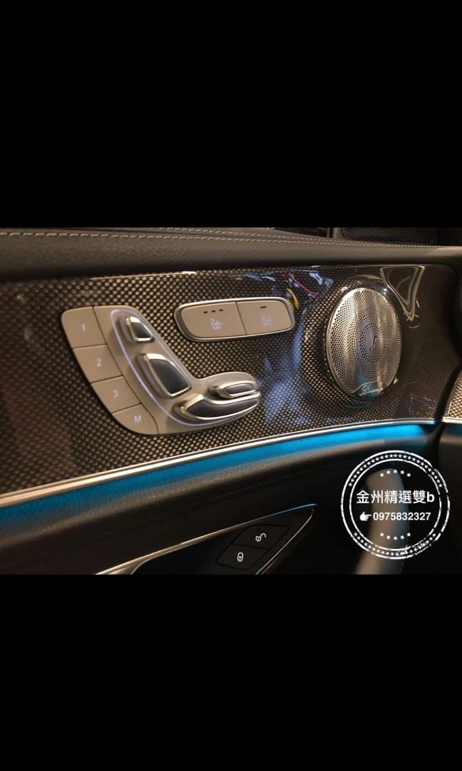AMG E43 珍珠白頂天滿配+p20