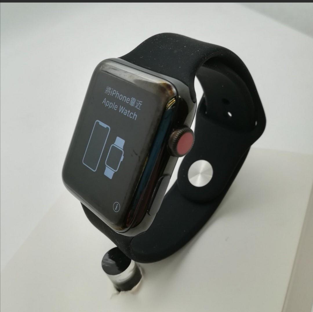 Apple Watch Series 3 LTE 42mm Stainless 不銹鋼SH078307