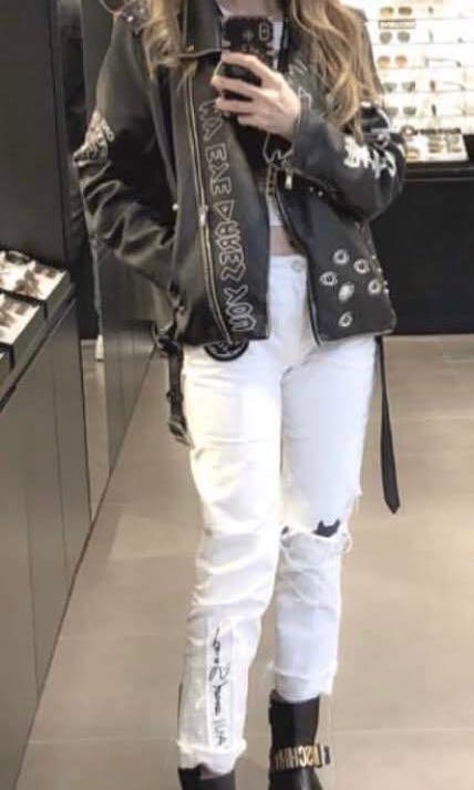Black Leather Jacket (UNISEX)