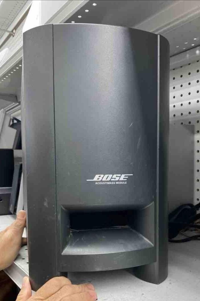 Bose Acoustimass Subwoofer On Carousell