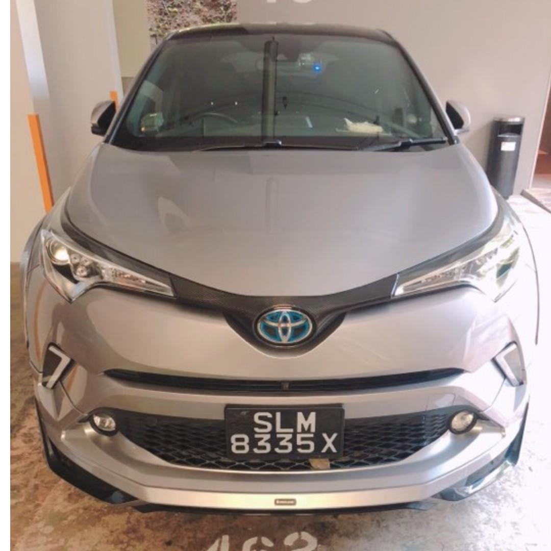 C-HR Hybrid or 7 Seater Black Wish For Rent !