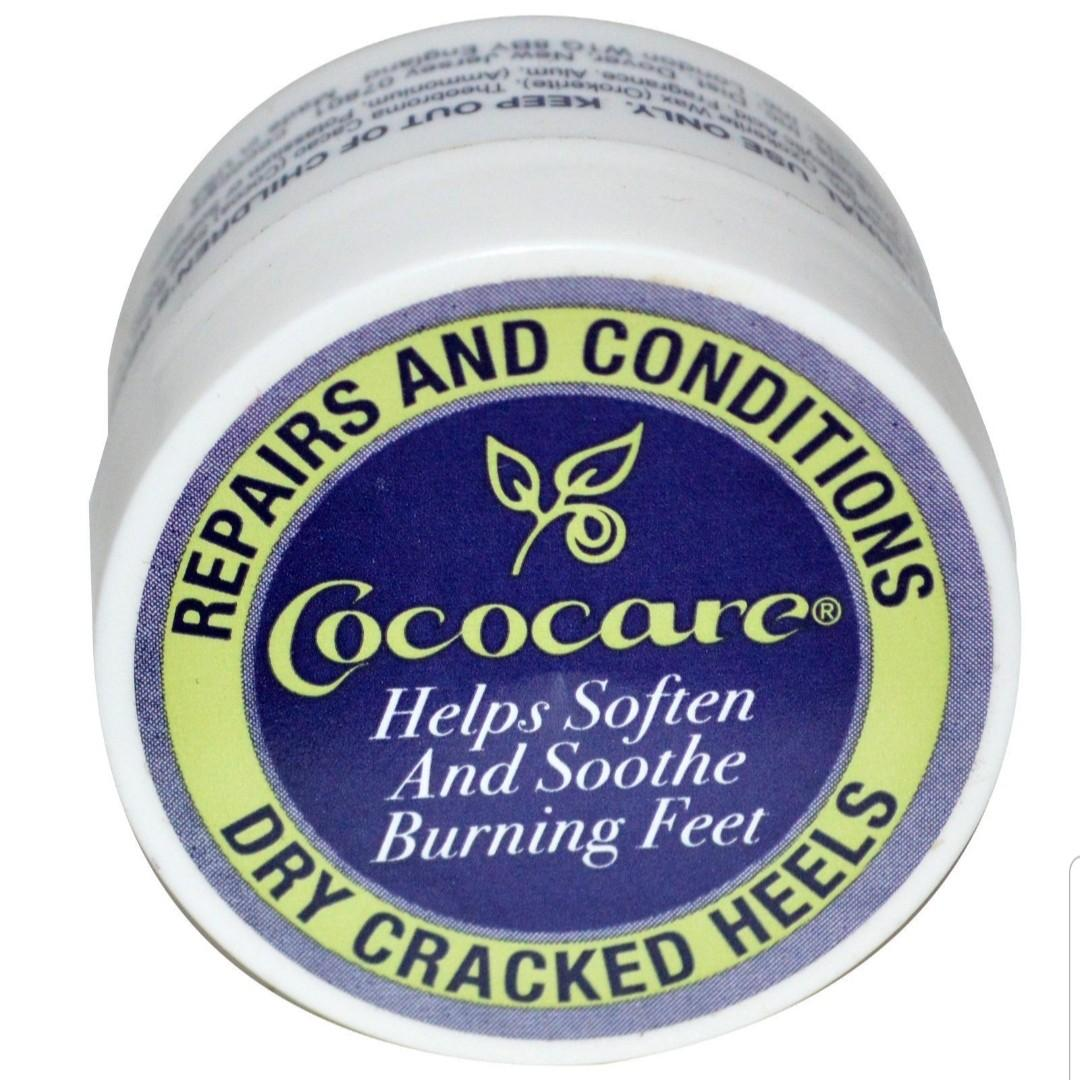 Cococare, Repairs and Conditions Dry Cracked Heels, .5 oz (11 g)