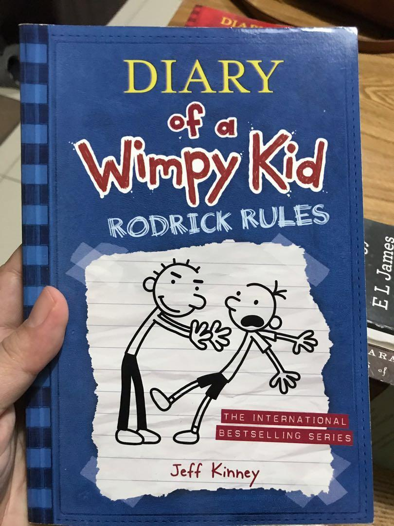 Diary Of A Wimpy Kid Rodrick Rules Books Children S Books On Carousell