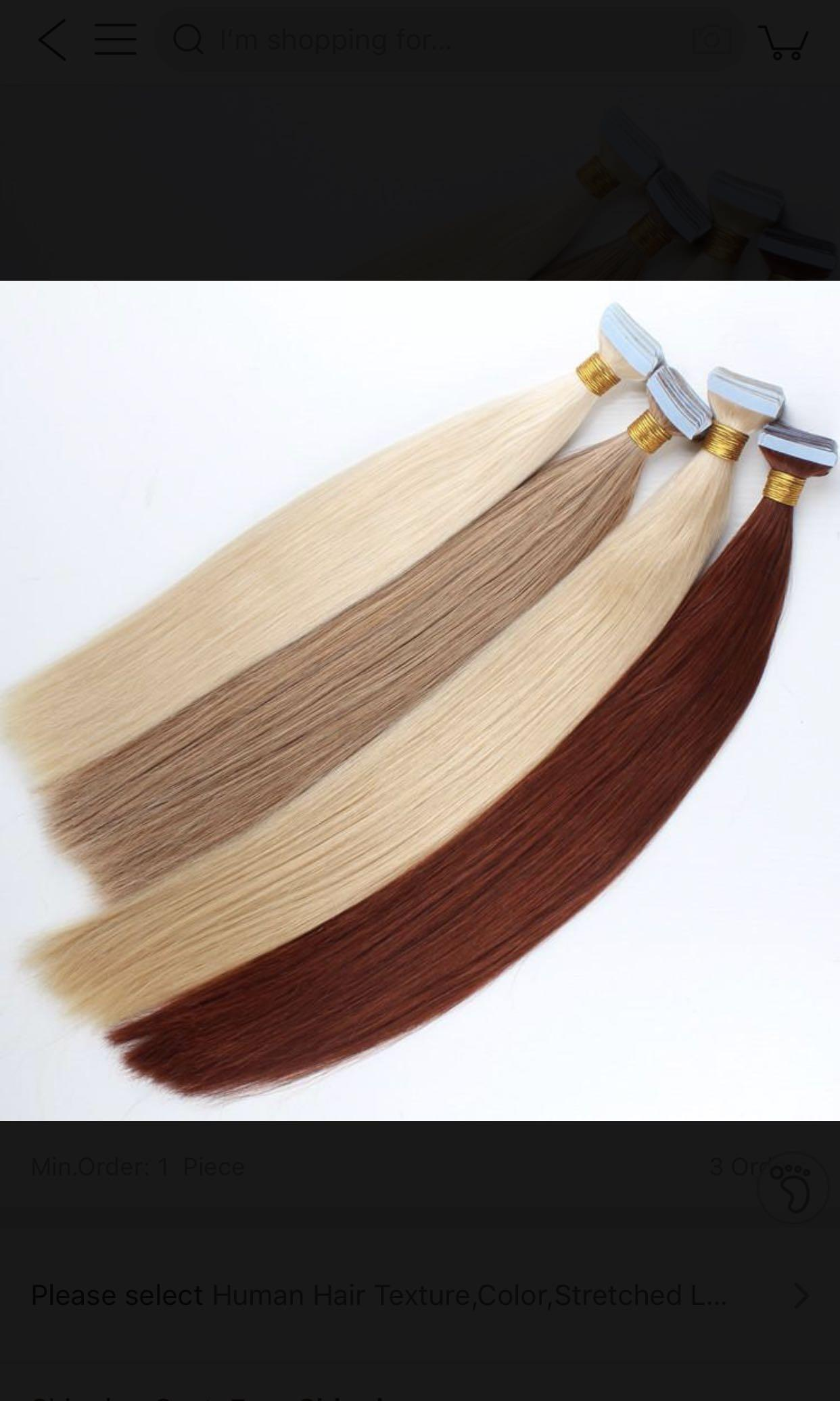 Double Drawn Remy Hair Extensions