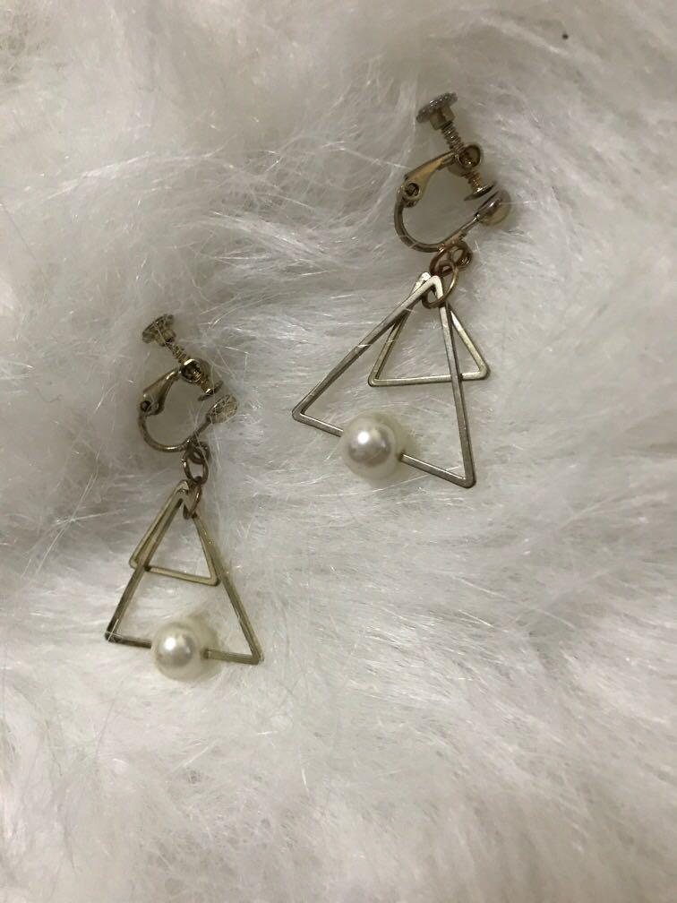 Earrings 珍珠耳夾 耳環
