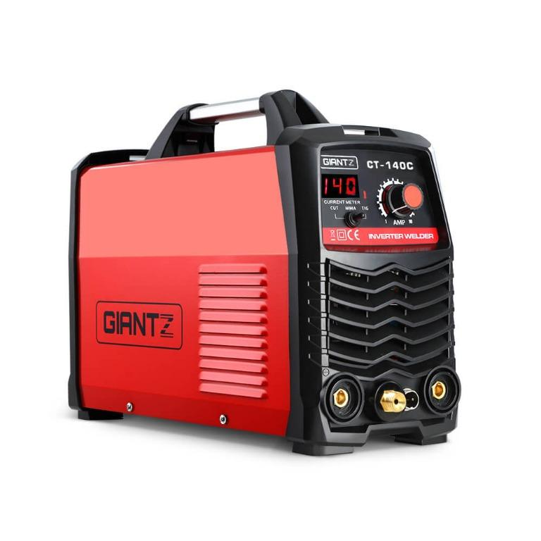 GIANTZ Plasma Cutter DC ARC GAS Inverter Welder TIG 40A Portable IGBT 140Amp