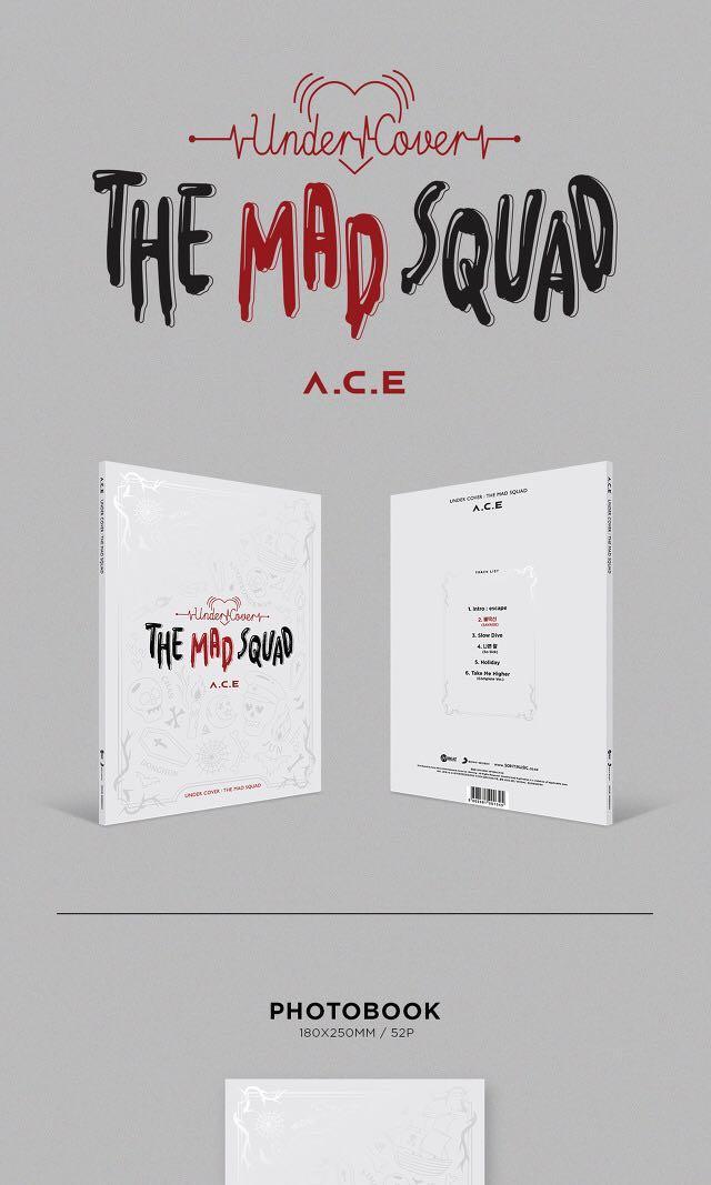 [FREEBIES/GO] A.C.E UNDER COVER : THE MAD SQUAD ALBUM