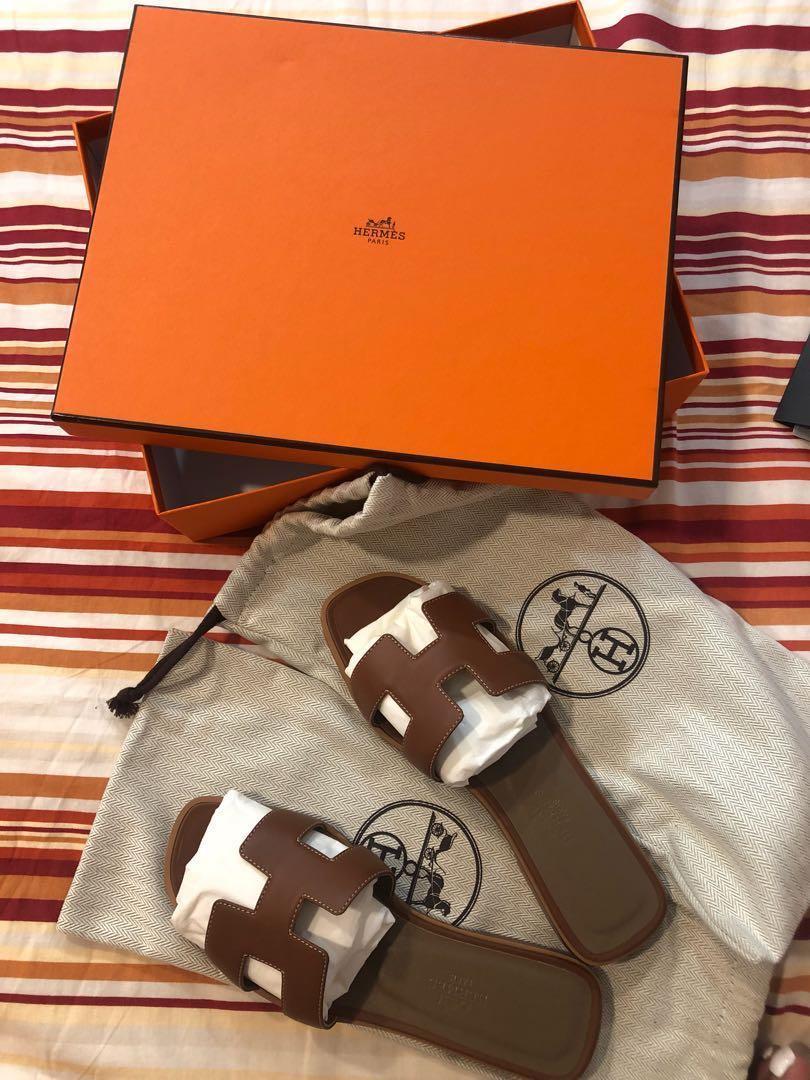Hermès H拖鞋