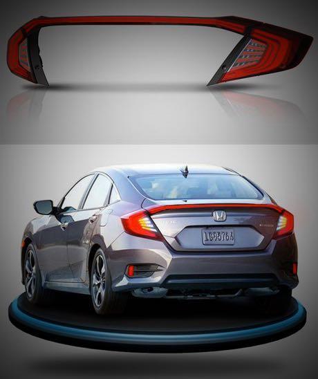 Honda Civic L.E.D taillamp