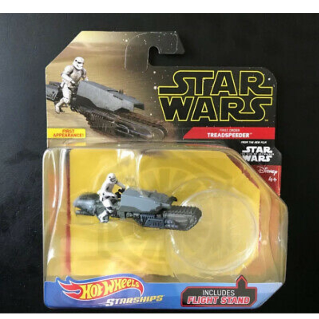 Hotwheels Star Wars Rise Of Skywalker Treadspeeder Toys Games Bricks Figurines On Carousell