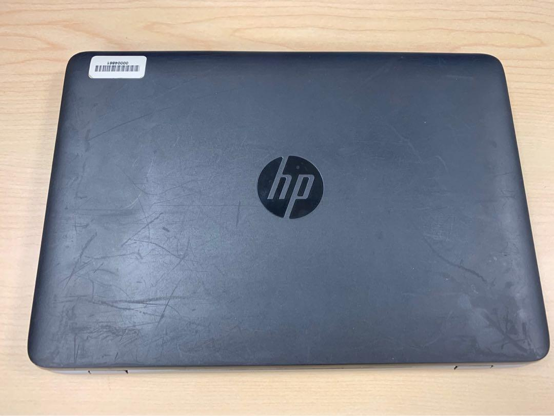 HP laptop with docking