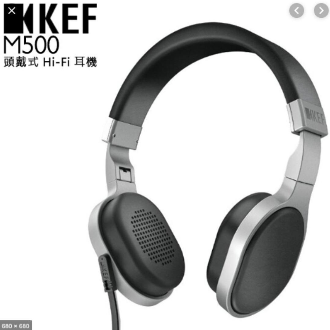 KEF M500 耳罩式耳機. 誠可小議價