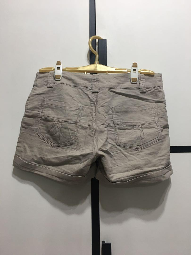 Khaki Brown Shorts