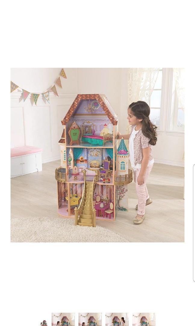 KidKraft Belle Enchanted Barbie Dollhouse Doll House
