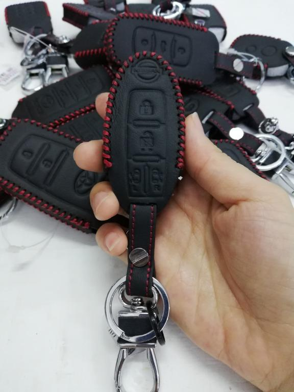 Car Leather Key Chain Pouch