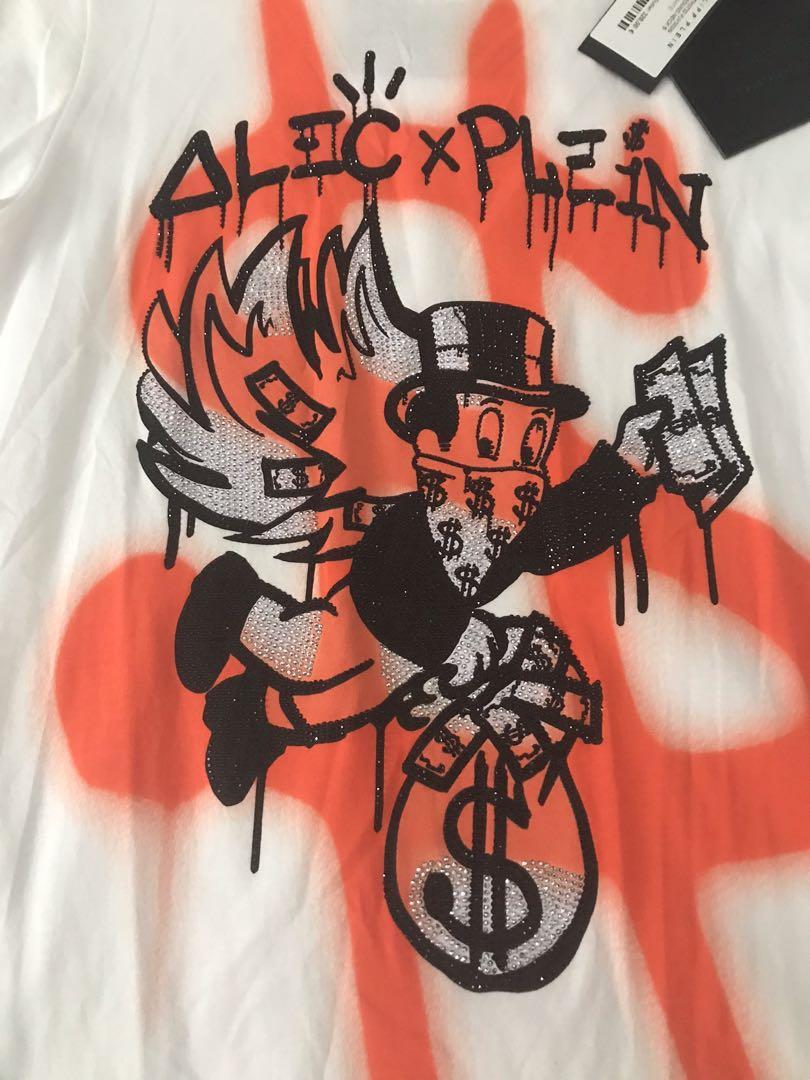 Limited Edition Philip Plein X Alec Monopoly T- Shirt