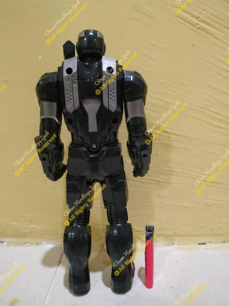 Marvel titan hero series marvel's war machine electronic figure