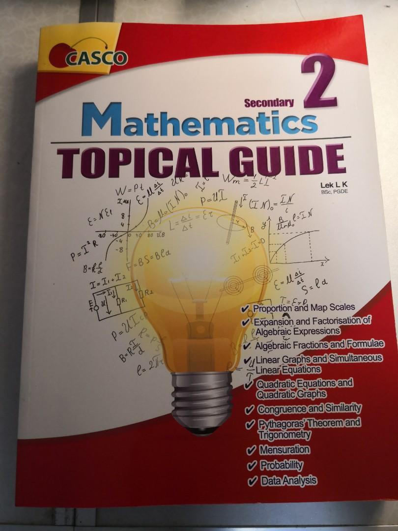 Mathematics sec 2