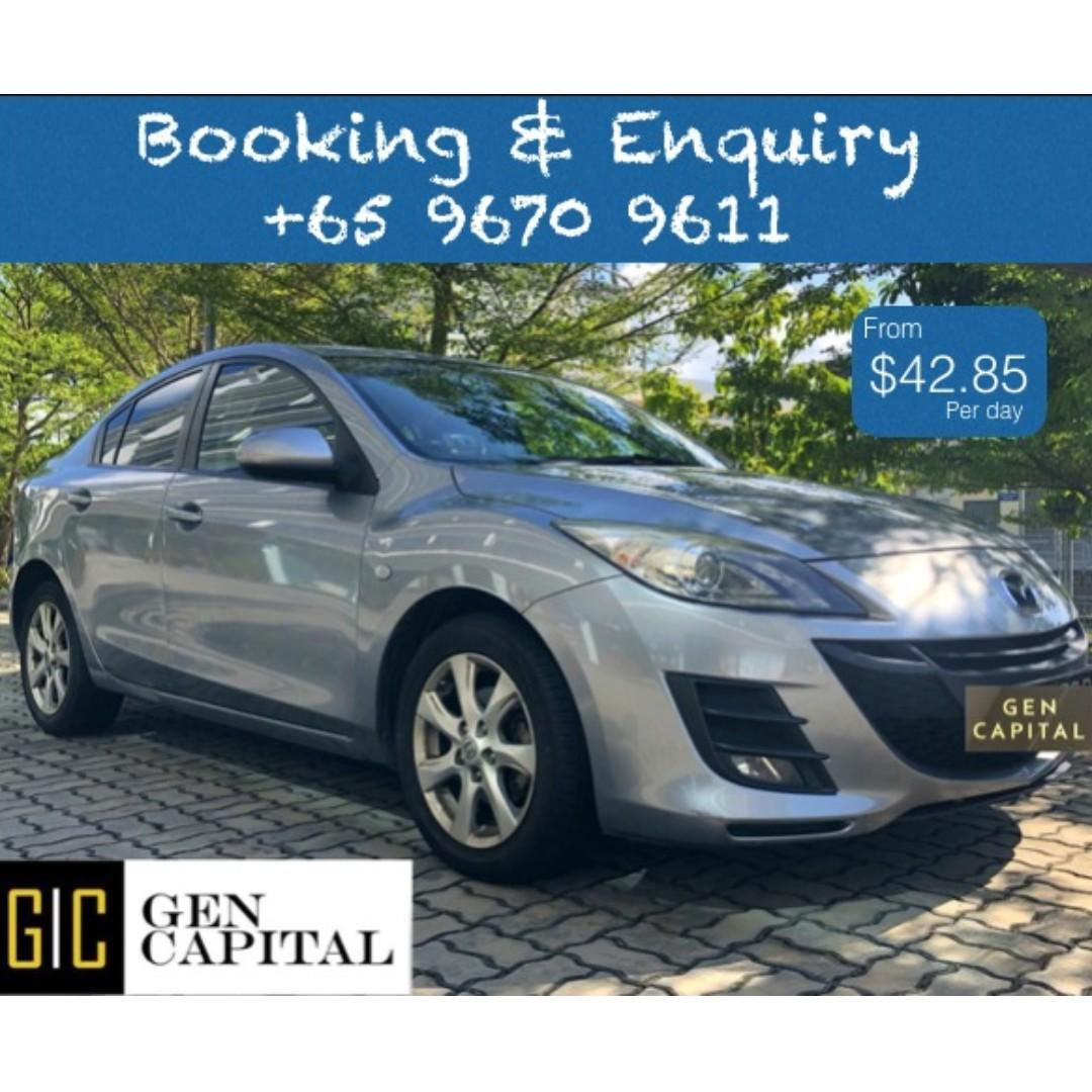 Mazda 3 1.6A Luxury @ Best rates, full servicing provided!