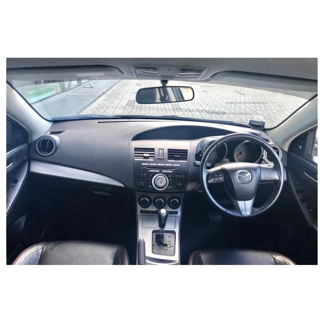 Mazda 3 -Lowest rental rates, with the friendliest service!