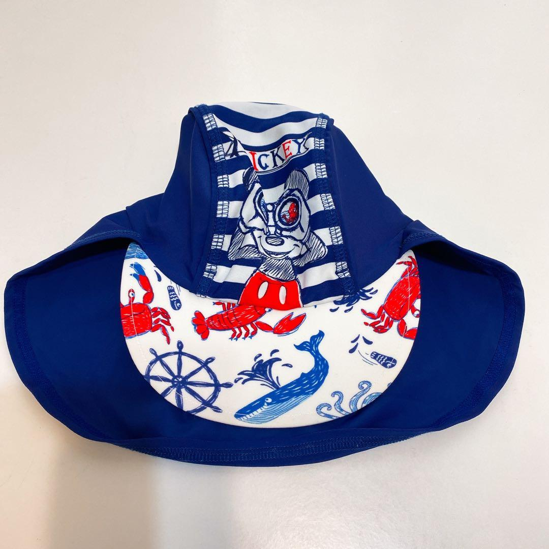 Mickey Mouse Disney cap 🧢 kids 小童帽 藍色 白色 blue x white 海洋款 sea style