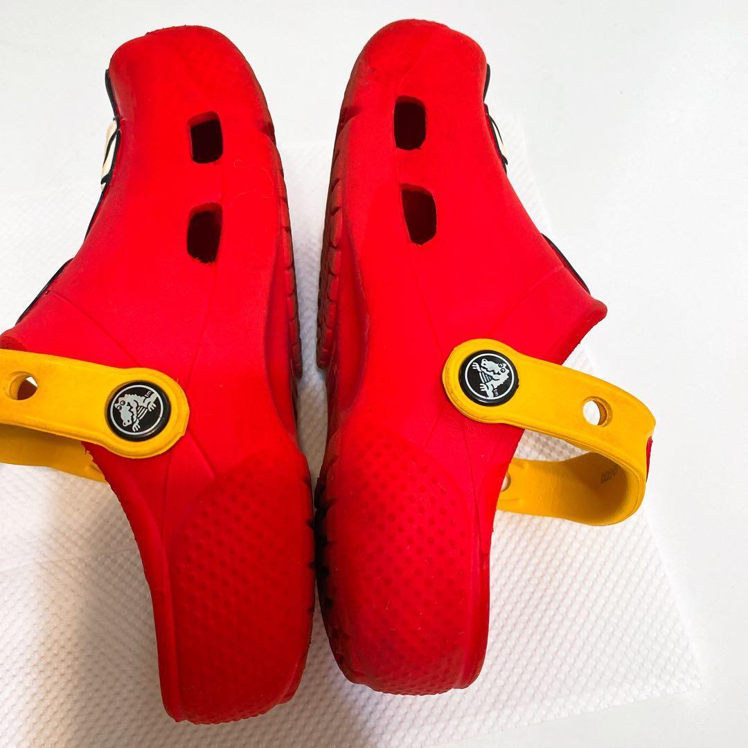 Crocs Mickey mouse red 紅色 拖鞋 小童  兒童鞋 膠鞋 沙灘鞋 戶外鞋 方便拖 kids shoes