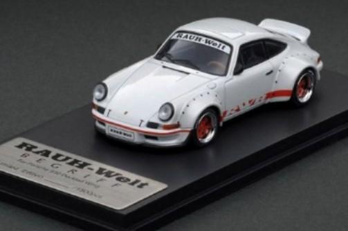 ModelCollect - Porsche RWB 930 Ducktail Wing  (Pearl White)