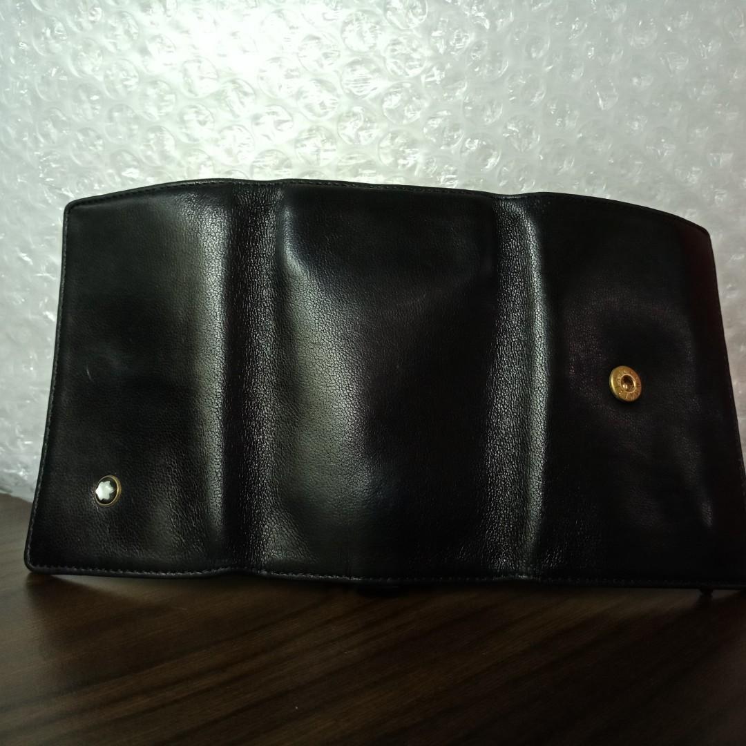 Mont Blanc Anniversary Edition 1924 leather key case valet ring genuine luxury