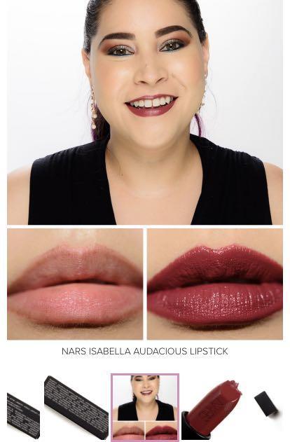 NARS Audacious Lipstick - Isabella & Delphine w mirrored box
