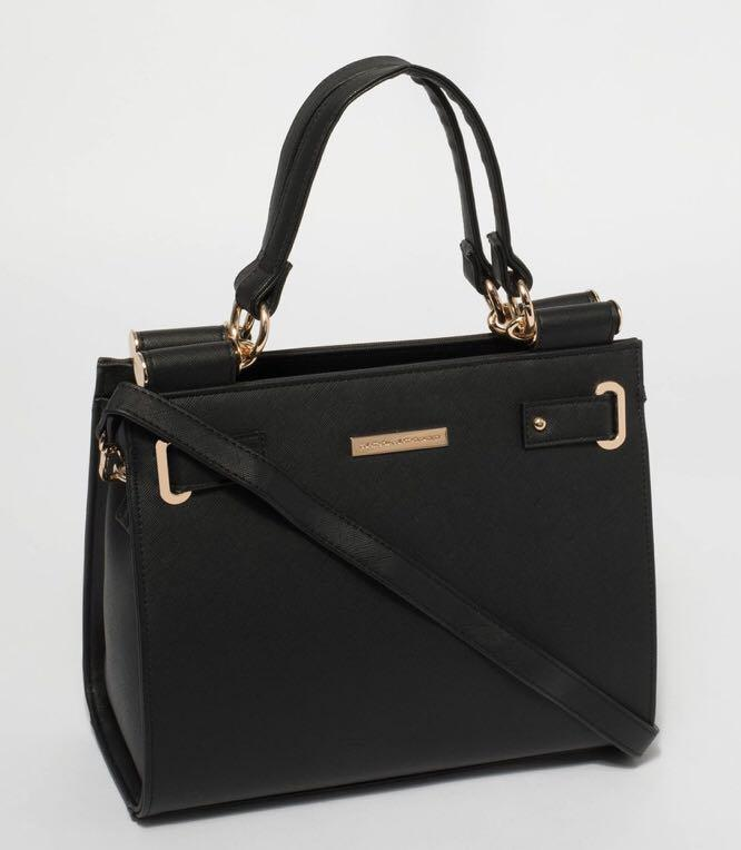 New Colette Stephanie square tote bag with gold hardware
