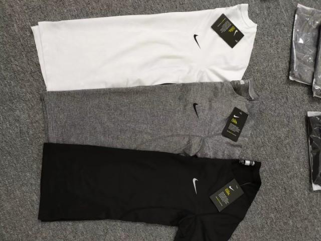 Nike dry fit gym top cloth compression slim fit size s-xxl