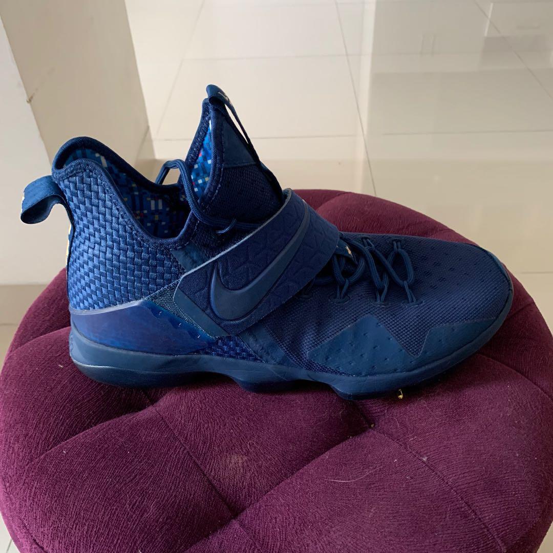 Nike LeBron 15 XV Agimat Philippines Coastal Blue/Metallic Gold