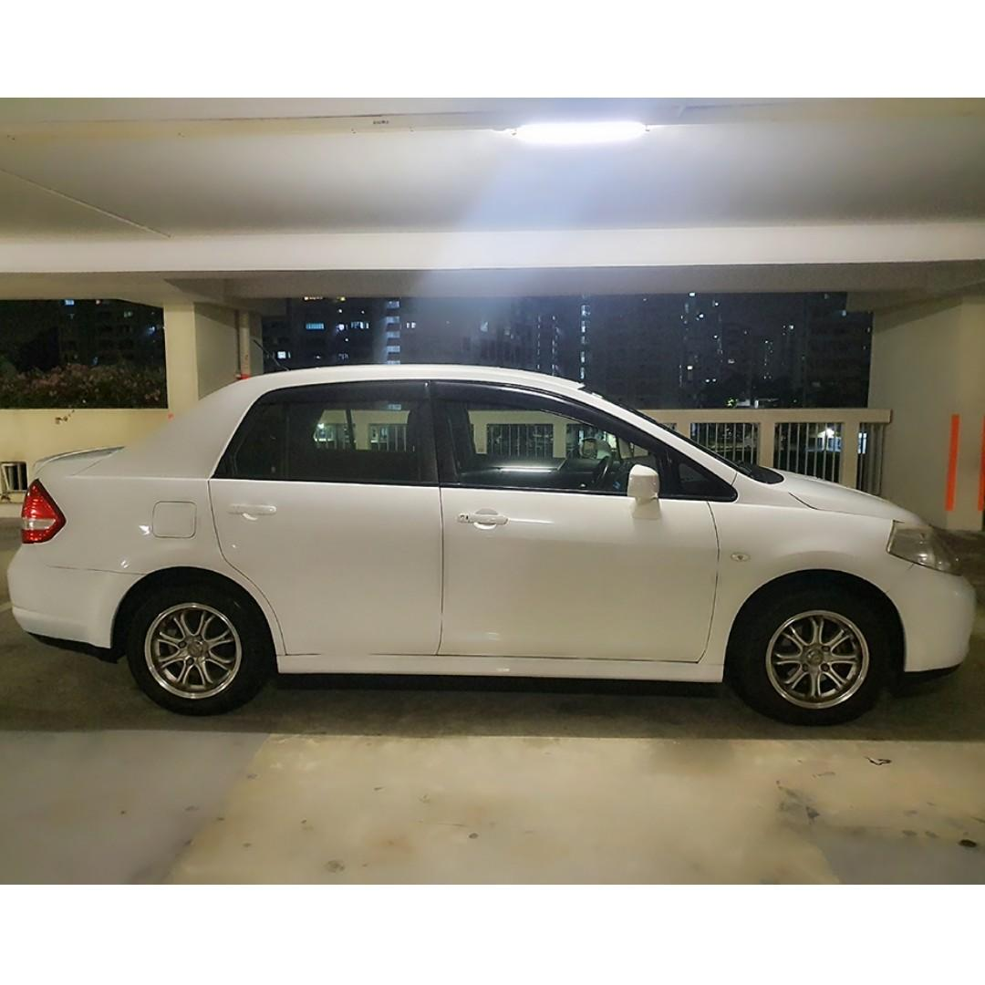 Nissan Latio 1.5A Car Rental/Leasing grab / go-jek / tada / ryde /personal use / commercial use